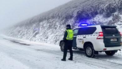 Photo of O temporal de neve e vento provoca incidencias nas estradas de Valdeorras