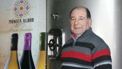 """Photo of O adegueiro Alfonso Albor, Premio """"Vida entre Vides"""" da D.O. Ribeiro"""