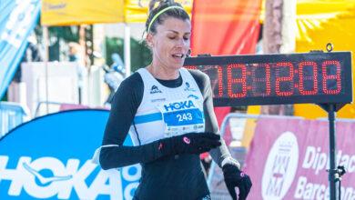 Photo of A vilamartinesa Eva Arias logra o récord galego M40 en ruta na Cursa dels Nassos