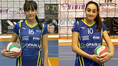 Photo of As barquenses Ángela e Sofía Bussieres (CV Ribeira Sacra), seleccionadas pola Real Federación Española de Voleibol