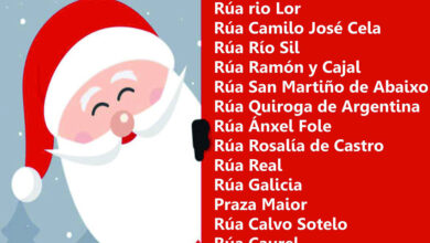 Photo of Papá Noel visitará Quiroga mañá pola mañá