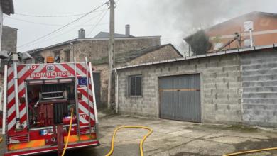 Photo of Un incendio afecta a dúas casas en Petín, unha delas habitada