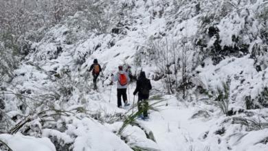 Photo of Marcha con raquetas de neve ata a Lagoa de Ocelo, en Trevinca