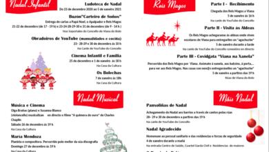 Photo of Música, cine, obradoiros virtuais e homenaxes, entre as propostas do Nadal de Viana