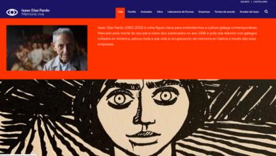 Photo of O universo de Isaac Díaz Pardo, nunha nova web