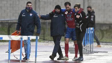 Photo of O capitán do CD Barco lesiónase no amigable disputado este domingo en Calabagueiros