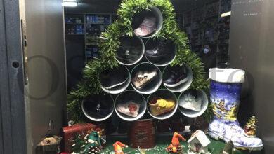 Photo of Orixinal decoración de Nadal nas casas e nos establecementos vianeses