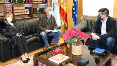 Photo of O delegado da Xunta reúnese cos representantes da Asociación Ourensá de Axuda ao Toxicómano