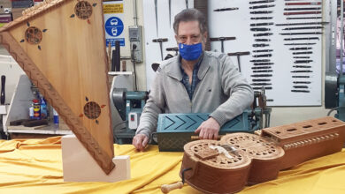 Photo of O obradoiro musical da Deputación de Ourense cede instrumentos á mostra de Afonso X