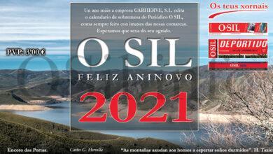 Photo of Non quedes sen o teu Calendario 2021 de O Sil, á venda en quioscos e librarías
