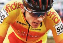 Photo of O ciclista alaricano Iván Feijoo é o actual campión de España sub23 de ciclocross