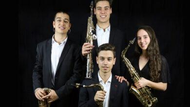 Photo of Concerto do cuarteto de saxos Synthèse Quartet, o sábado 23 de xaneiro en Sober