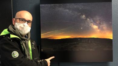 """Photo of Unha foto nocturna do barquense Sindo Novoa, na exposición """"Ceos Galegos"""" na Coruña"""