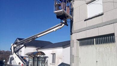 Photo of Comeza a instalación de novas luminarias Led no municipio de Trives