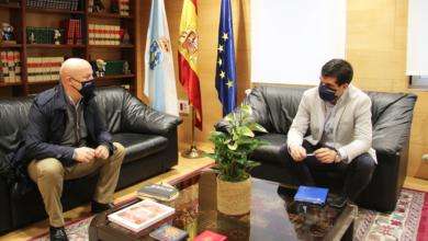 Photo of Reunión do delegado da Xunta en Ourense co alcalde da Gudiña