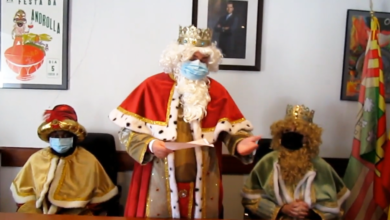 Photo of Recepción aos Reis Magos no Concello de Viana do Bolo