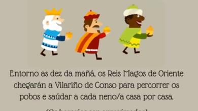 Photo of Os Reis Magos percorrerán o concello de Vilariño de Conso